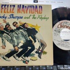 Discos de vinilo: ROCKY SHARPE EP FELIZ NAVIDAD ESPAÑA 1980 EN MUY BUEN ESTADO. Lote 211696548