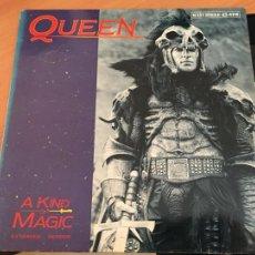 Discos de vinilo: QUEEN (A KIND OF MAGIC) MAXI 1986 ESPAÑA (B-12). Lote 211698934