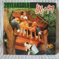 Discos de vinilo: 20YEARSOLD - LIKE A PUP - 7'' EP SPAIN EDICION LIMITADA COPIA NÚM. 40 CON HOJA INTERIOR ESTADO NUEVO. Lote 211705338
