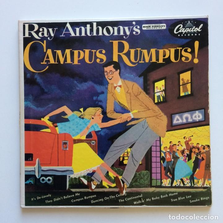 RAY ANTHONY – RAY ANTHONY'S CAMPUS RUMPUS 2 SINGLES USA 1953 CAPITOL RECORDS (Música - Discos de Vinilo - EPs - Jazz, Jazz-Rock, Blues y R&B)