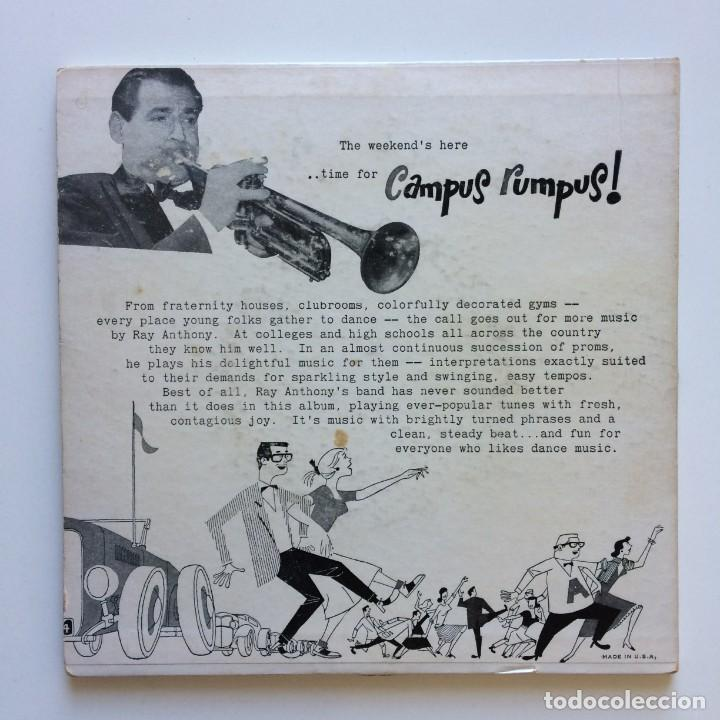 Discos de vinilo: Ray Anthony – Ray Anthonys Campus Rumpus 2 SINGLES USA 1953 CAPITOL RECORDS - Foto 2 - 211706398