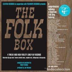 Discos de vinilo: FOLK BOX - FOLK BOX 50TH ANNIVERSARY (VINILO NUEVO). Lote 211717881