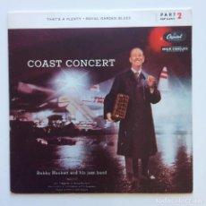 Discos de vinilo: BOBBY HACKETT AND HIS JAZZ BAND – COAST CONCERT PART 2 USA 1956 CAPITOL RECORDS. Lote 211718358
