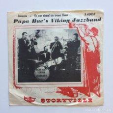 Discos de vinilo: PAPA BUE'S VIKING JAZZBAND – BONANZA DENMARK 1961 STORVILLE. Lote 211718948