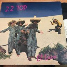 Discos de vinilo: ZZTOP ZZ TOP (EL LOCO) LP GERMANY 1981 (B-12). Lote 211719339