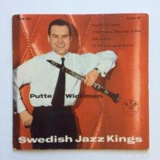 Discos de vinilo: PUTTE WICKMAN – SWEDISH JAZZ KINGS SWEDEN 1958 BONNIERS FOLKBIBLIOTEK. Lote 211719439