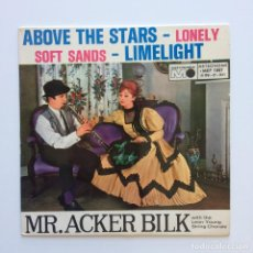 Discos de vinilo: MR. ACKER BILK WITH THE LEON YOUNG STRING CHORALE ‎– ABOVE THE STARS SWEDEN 1962 METRONOME. Lote 211719759