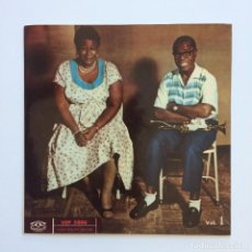 Discos de vinilo: ELLA FITZGERALD AND LOUIS ARMSTRONG – ELLA OCH LOUIS VOL. 1 SWEDEN 1957 KARISELL. Lote 211720021