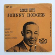 Discos de vinilo: JOHNNY HODGES ‎– DANCE WITH JOHNNY HODGES SWEDEN 1952 KARUSELL. Lote 211720666
