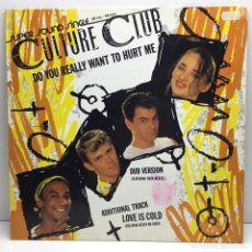 Discos de vinilo: CULTURE CLUB - MAXI SINGLE - LP - VINILO - DO YOU REALLY WANT YO HURT ME - BOY GEORGE. Lote 211722369