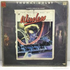 Discos de vinilo: LP - DISCO - VINILO - THOMAS DOLBY - THE GOLDEN AGE OF WIRELESS - AÑO 1982 - PRINTED IN GERMANY. Lote 211722455