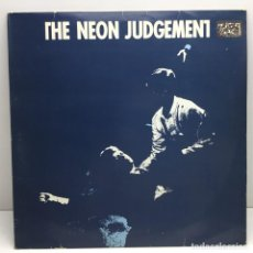 Discos de vinilo: LP - DISCO - VINILO - THE NEON JUDGEMENT - TOMORROW IN THE PAPERS - MAXI SINGLE - SABAM. Lote 211722754