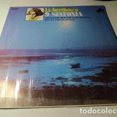 Discos de vinilo: LP - 9 SINFONIA BEETHOVEN - HEMULT JENSSEN - ND -1057 (VG+ / VG+) SPAIN 1986. Lote 211723029
