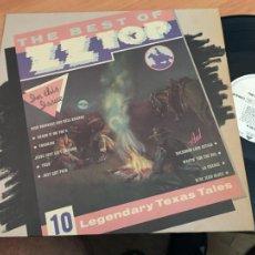 Discos de vinilo: ZZTOP ZZ TOP (THE BEST OF) LP GERMANY (B-12). Lote 211726226