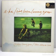 Discos de vinilo: LP - DISCO - VINILO - A-HA - I'VE BEEN LOSING YOU - EXTENDED MIX - AÑO 1986. Lote 211729458