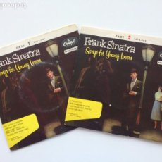 Discos de vinilo: FRANK SINATRA - SONGS FOR YOUNG LOVERS 2 DISCOS DENMARK 1955 CAPITOL RECORDS. Lote 211743628