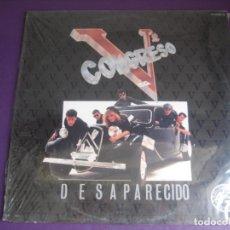 Discos de vinilo: QUINTO Vº CONGRESO – DESAPARECIDOS - MINI LP CFE 1984 PRECINTADO - FUNK SOUL POP 80'S MOVIDA. Lote 211743655