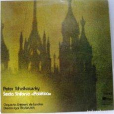 Dischi in vinile: PETER TCHAIKOWSKY - SEXTA SINFONIA PATETICA - DIR. IGOR MARKEVITCH - LP. Lote 211746342