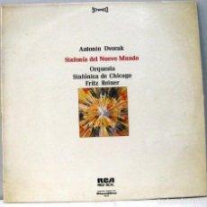 Dischi in vinile: ANTONIN DVORAK - SINFONIA DEL NUEVO MUNDO - DIR. FRITZ REINER - LP. Lote 211746590
