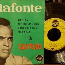 Discos de vinilo: BELAFONTE - MATILDA - CALYPSOS. Lote 211750087