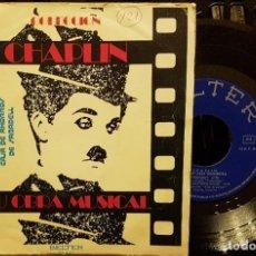 Discos de vinilo: CHAPLIN SU OBRA MUSICAL. Lote 211750740