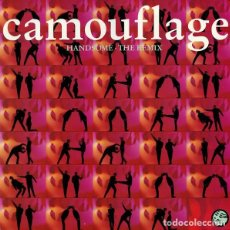 Discos de vinilo: CAMOUFLAGE - HANDSOME - THE REMIX , MAXI-SINGLE GERMANY 1991. Lote 211751050