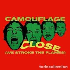 Discos de vinilo: CAMOUFLAGE - CLOSE (WE STROKE THE FLAMES), MAXI METRONOME GERMANY 1993. Lote 211751175