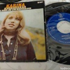 Discos de vinilo: KARINA. REGRESARAS. Lote 211752205