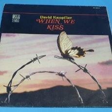 Discos de vinilo: DAVID KNOPFLER- WHEN WE KISS. Lote 211753445