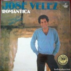 Discos de vinilo: JOSE VÉLEZ - ROMANTICA. Lote 211754810