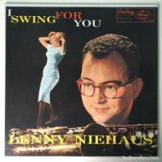 Discos de vinilo: FIRMADO, LENNY NIEHAUS – I SWING FOR YOU, JAPAN EMARCY. Lote 211755523