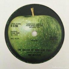 Discos de vinilo: THE BEATLES – THE BALLAD OF JOHN AND YOKO, UK 1969 APPLE RECORDS. Lote 211759965