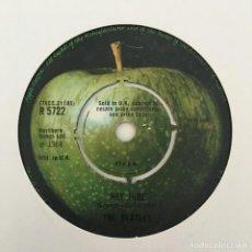 Discos de vinilo: THE BEATLES – HEY JUDE, UK 1968 APPLE RECORDS. Lote 211760545