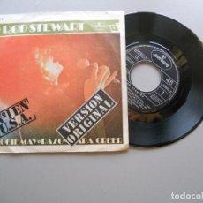 Discos de vinilo: ROD STEWART – MAGGIE MAY / RAZON PARA CREER SINGLE 1971 EX/VG++. Lote 211762190