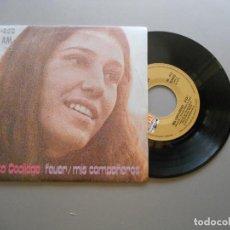 Discos de vinilo: RITA COOLIDGE – FEVER / MIS COMPAÑEROS SINGLE 1973 NM/EX. Lote 211769696