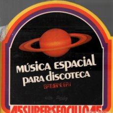 Discos de vinilo: HOMENAJE A ELVIS - MAGIC FLY- LP MAXISINGLE MOVIEPLAY 1977 RF-8101 , PERFECTO ESTADO. Lote 211770295