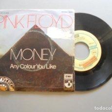 Discos de vinilo: PINK FLOYD – MONEY SINGLE 1973 PROMO VG++/VG. Lote 211771233