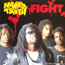 Discos de vinilo: NAKED TRUTH - FIGHT - LP HEAVY METAL SPAIN 1993. Lote 211774627
