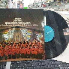 Discos de vinilo: MISA JUVENIL HISPANOAMERICANA LP CORO GUADALUPE ESPAÑA 1976. Lote 211776017