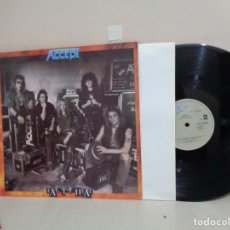 Discos de vinilo: ACCEPT --EAT THE HEAT --EPIC--1989 CBS- MADRID. Lote 211776952