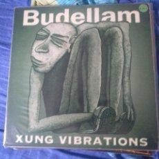 Discos de vinilo: BUDELLAM-XUNG VIBRATIONS LP-PUNK EN CATALAN + FANZINE. Lote 211785440