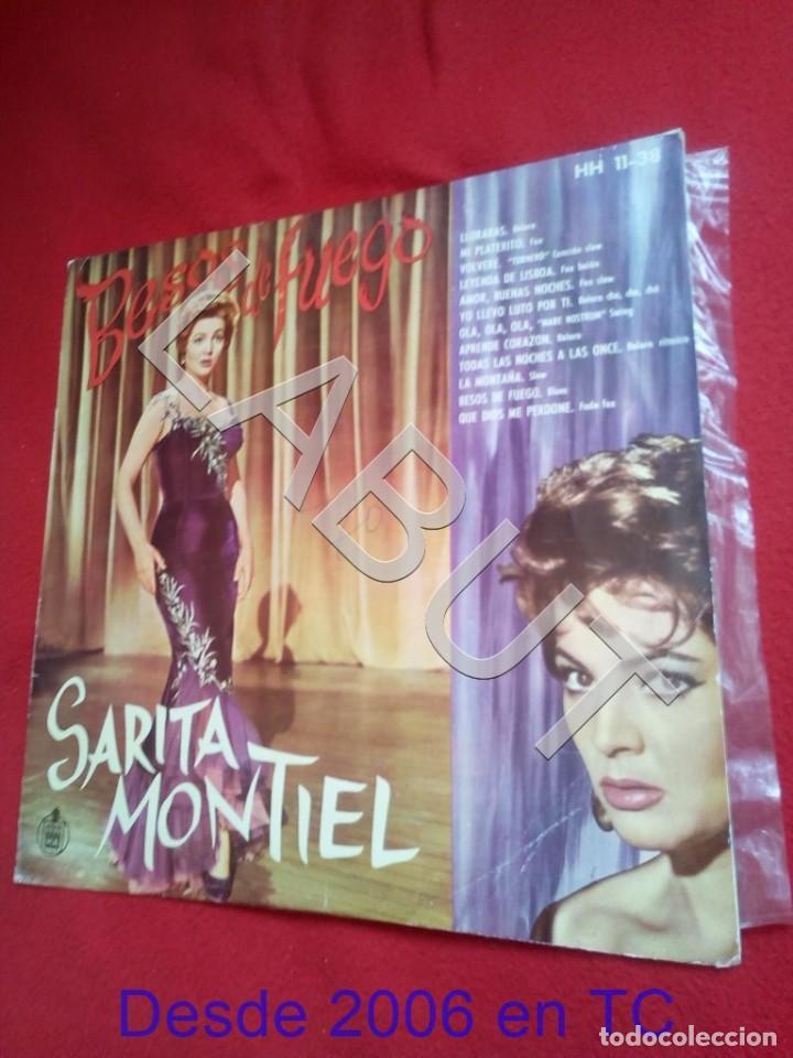 SARITA MONTIEL BESOS DE FUEGO EL ORIGINAL 400 GRS D2 (Música - Discos - LP Vinilo - Otros Festivales de la Canción)