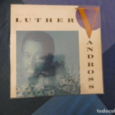 Discos de vinilo: LOT45 LP FUNK SOUL UK 88 LUTHER VANDROSS ANY LOVE MUY BUEN ESTADO. Lote 211790388