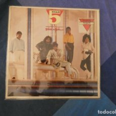 Discos de vinilo: LOT45 LP FUNK SOUL USA 86 FIVE STAR SILK & STEEL LP ACUSA CIERTO USO AUN TOLERABLE. Lote 211790907