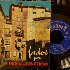 Discos de vinilo: FADOS POR MARIA DA CONCEIÇÁO. Lote 211794643