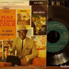 Discos de vinilo: NAT KING COLE A MIS AMIGOS. Lote 211794771