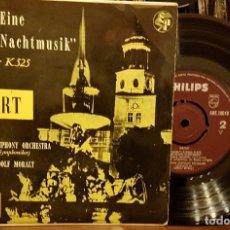 Discos de vinilo: MOZART - SERENADE EINE KLEINE NACHTMUSIK. Lote 211795702
