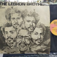 Discos de vinilo: THE LEBRON BROTHERS LP DÉCIMO ANIVERSARIO VENEZUELA 1977. Lote 211797955