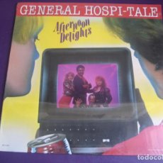 Discos de vinilo: AFTERNOON DELIGHTS - GENERAL HOSPI-TALE LP MCA 1981 PRECINTADO EDICION USA - DISCO FUNK 80'S. Lote 211804600