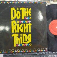 Discos de vinilo: B.S.O. DO THE RIGHT THING ESPAÑA 1989. Lote 211807168